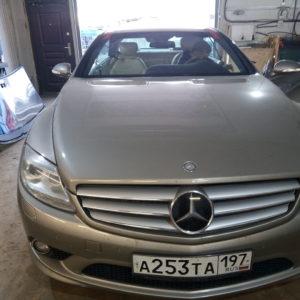 Лобовое стекло замена Mercedes