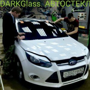 Поменять лобовое стекло в СПБ на FORD FOCUS