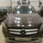 Замена лобового стекла на Mercedes