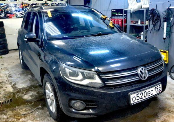 Замена лобового автостекла на Volkswagen Tiguan