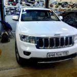 Замена автостекла в СПБ на jeep grand cherokee