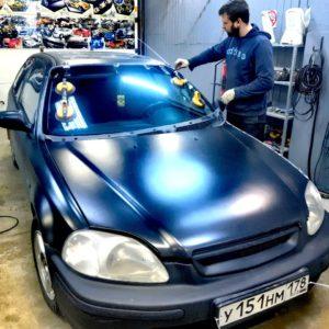 Автостекло Лобовое стекло на Honda Civic: замена и продажа автостекол