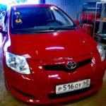 Замена лобового автостекла на Toyota Yaris