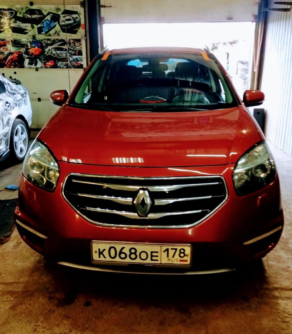 Замена лобового автостекла на Renault Koleos в СПБ