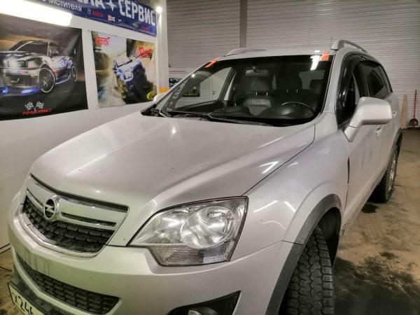 Замена ветрового стекла на Opel Antara