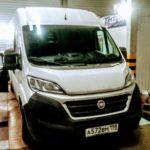Замена лобового автостекла на Fiat Ducato в СПБ!